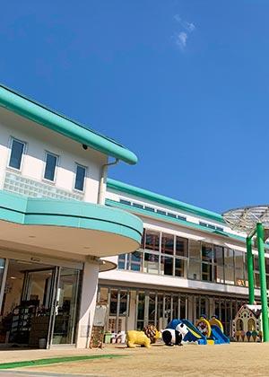 大阪府大東市の幼稚園保育園こども園の外観