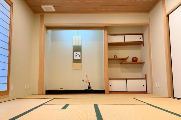 大阪府大東市の幼稚園保育園こども園の施設案内の和室