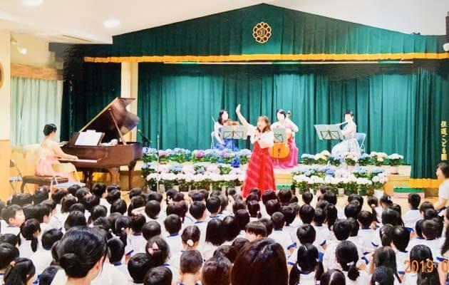 大阪府大東市の住道こども園の年間行事11月の年間予定の創立記念日